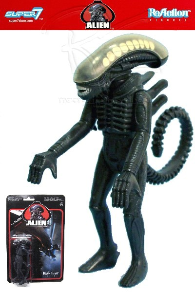 Funko Super 7 Alien ReAction 3.75 Inch The Alien Duplicate