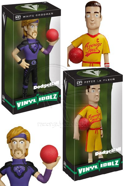 Funko DodgeBall Vinyl Idolz Action Figure Set of 2