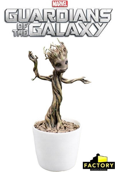 Guardians of The Galaxy Dancing Groot Premium Motion Statue