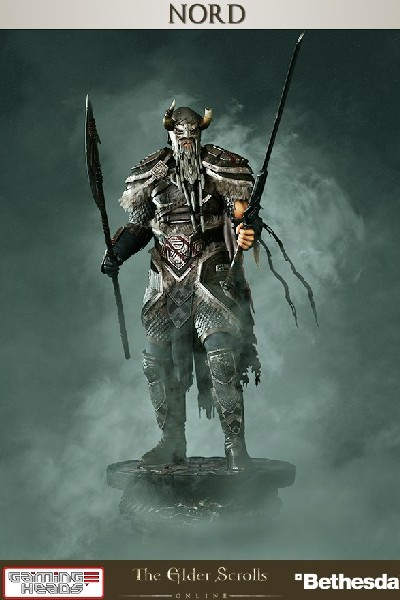 Preorder Gaming Heads The Elder Scrolls Online The Nord Statue