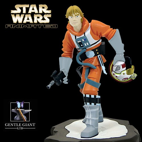 Gentle Giant Star Wars Animated Luke X-Wing Pilot Maquette