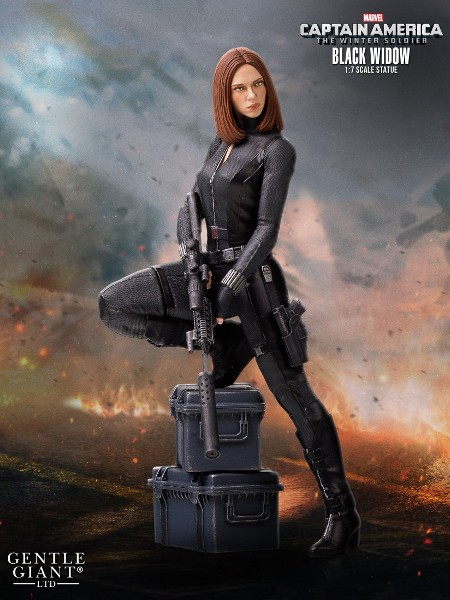 Gentle Giant Marvel Black Widow Collectors Gallery Statue