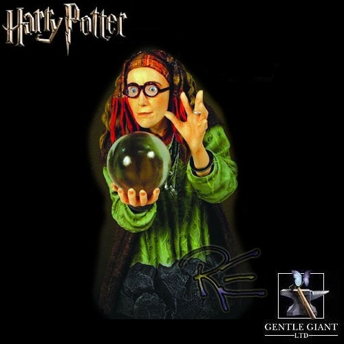 Gentle Giant Harry Potter Professor Trelawney Mini Bust