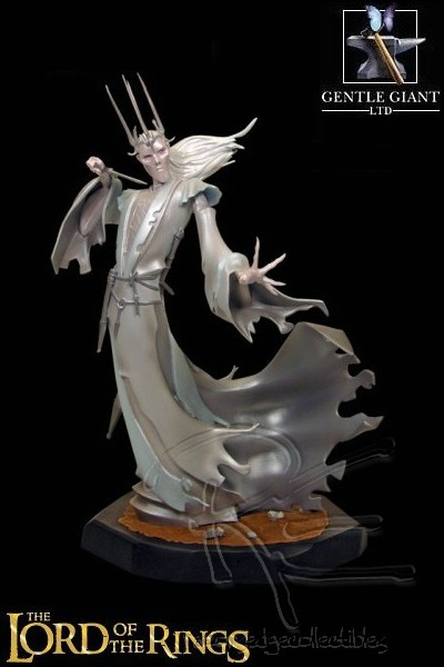Gentle Giant Lord of the Rings Twilight Ringwraith Animaquette