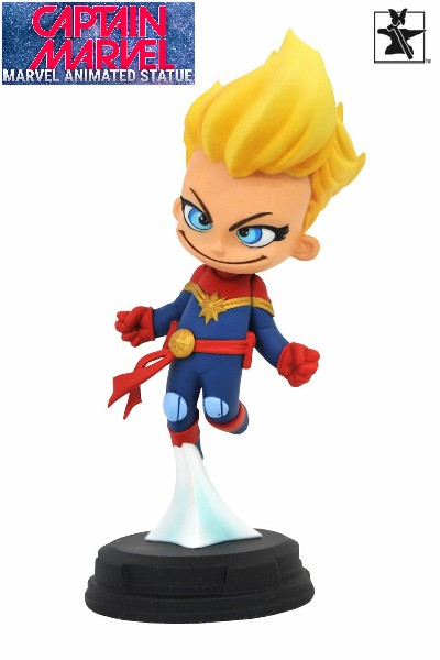 Gentle Giant Marvel Animated Series Captain Marvel Statue