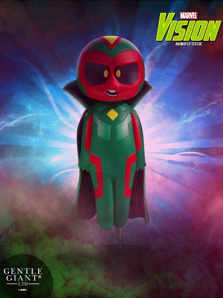 Gentle Giant Marvel Animated Series Vision Statue