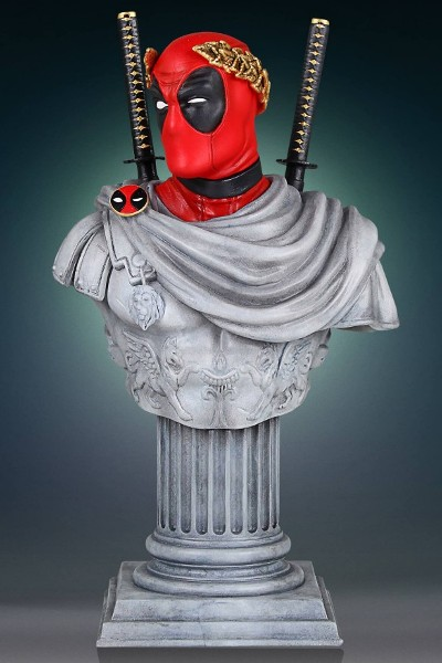 Gentle Giant Marvel Deadpool Caesar Classic Bust