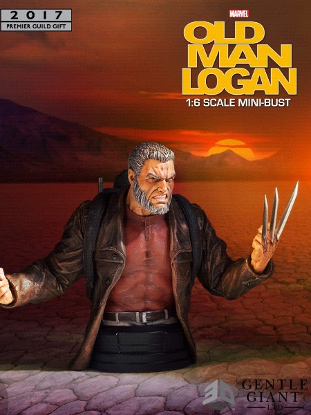 Gentle Giant Marvel Wolverine Old Man Logan PGM Exclusive Bust