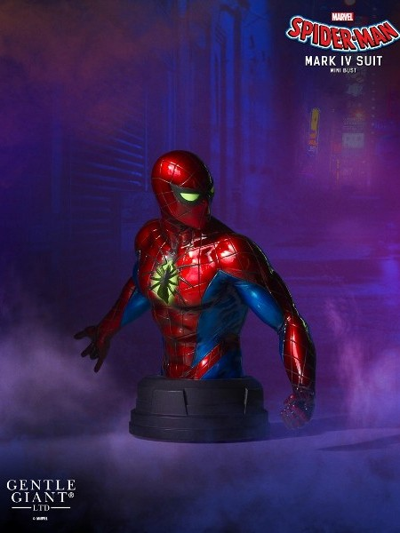 Preorder Gentle Giant Marvel Spider-Man Mark IV Suit Mini Bust
