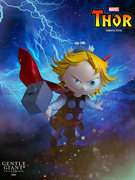 Gentle Giant Marvel Animated Series Thor Statue