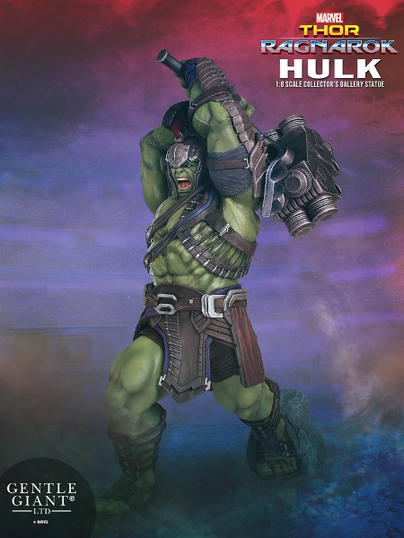 Gentle Giant Marvel Thor Ragnarok Hulk Collectors Gallery Statue
