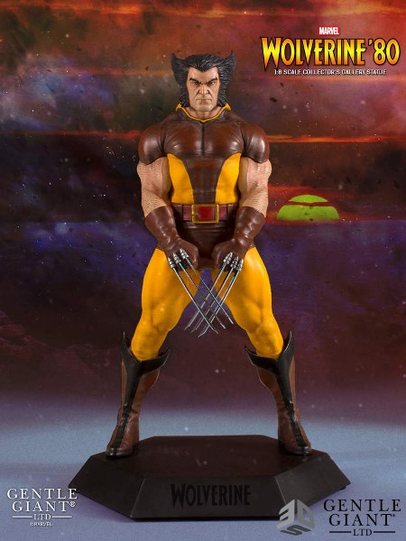 Gentle Giant Marvel Wolverine Brown Collectors Gallery Statue