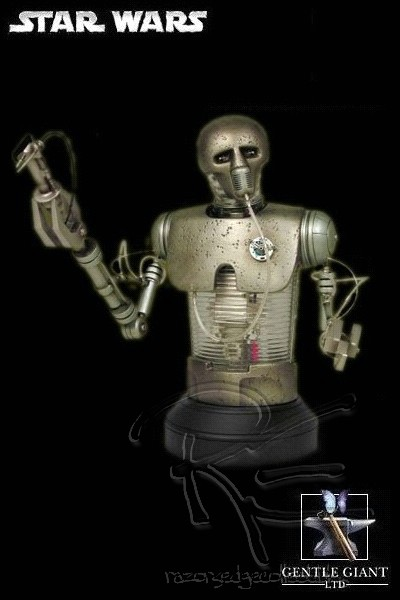 Gentle Giant Star Wars 2-1B Surgical Droid Light Up Mini Bust
