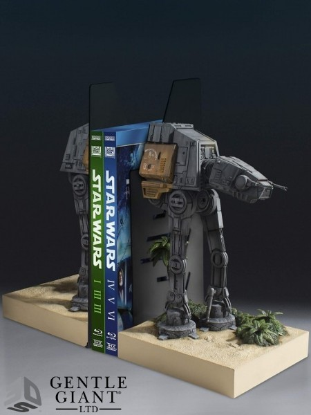 Gentle Giant Star Wars Rogue One AT-ACT Walker Bookend Set