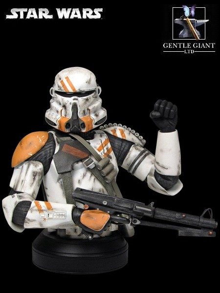 Gentle Giant Star Wars Airborne Trooper Mini Bust Exclusive