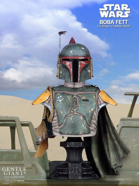 Gentle Giant Star Wars Return of the Jedi Boba Fett Classic Bust