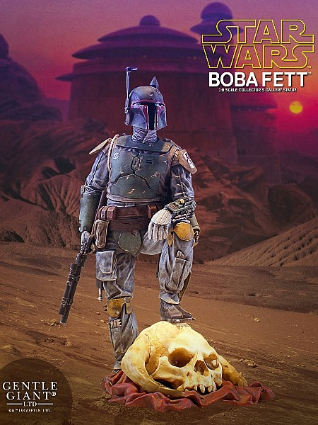 Gentle Giant Star Wars Boba Fett Collectors Gallery Statue