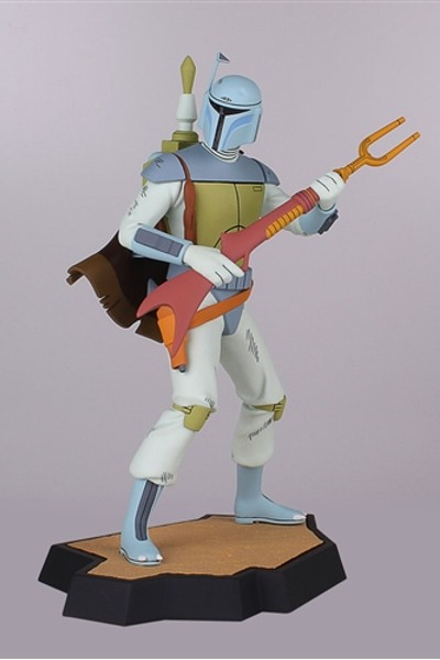 Gentle Giant Star Wars Boba Fett Holiday Special Maquette