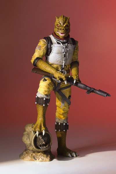 Preorder Gentle Giant Star Wars Bossk Collectors Gallery Statue