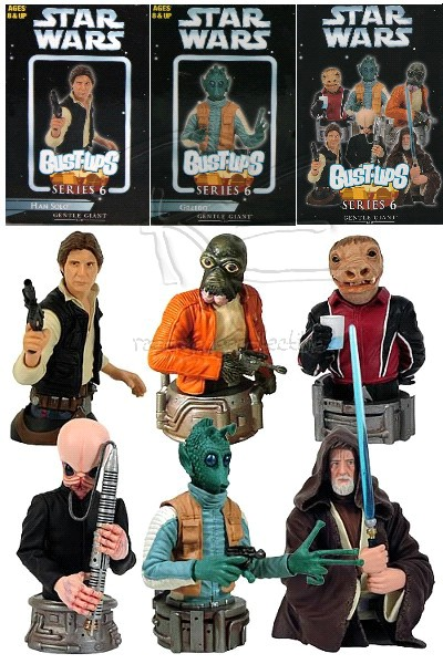 Gentle Giant Star Wars Bust Ups Cantina Series 6 Case of 16