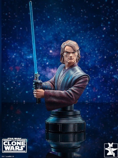 Preorder Gentle Giant Star Wars Clone Wars Anakin Skywalker Bust