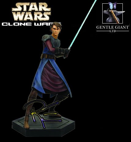 Gentle Giant Star Wars Clone Wars Anakin Skywalker Maquette