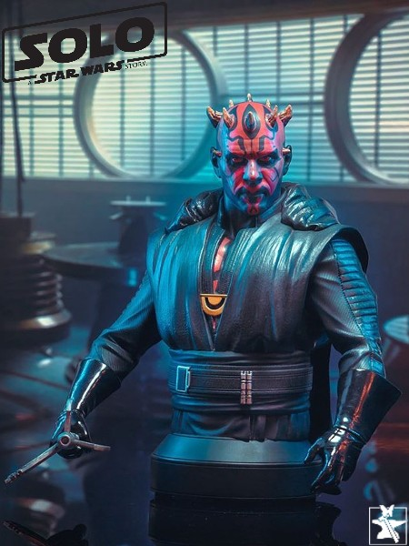 Gentle Giant Star Wars Darth Maul Crimson Dawn Bust