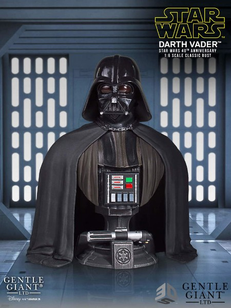 Gentle Giant Star Wars Darth Vader SDCC Exclusive Classic Bust