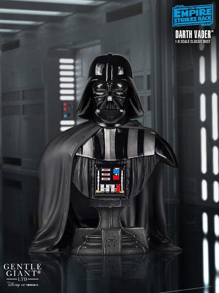 Gentle Giant Star Wars Empire Strikes Back Darth Vader Bust