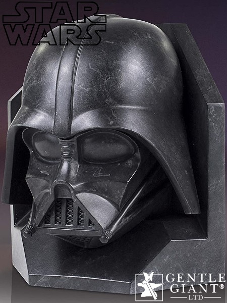 Gentle Giant Star Wars Darth Vader Faux Marble Bookend