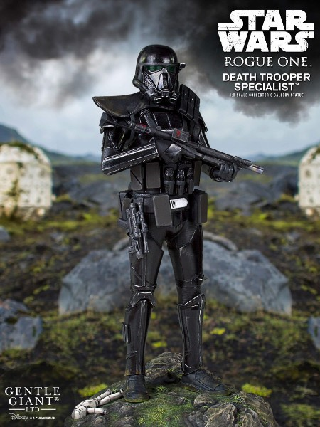 Gentle Giant Star Wars Death Trooper Specialist Gallery Statue