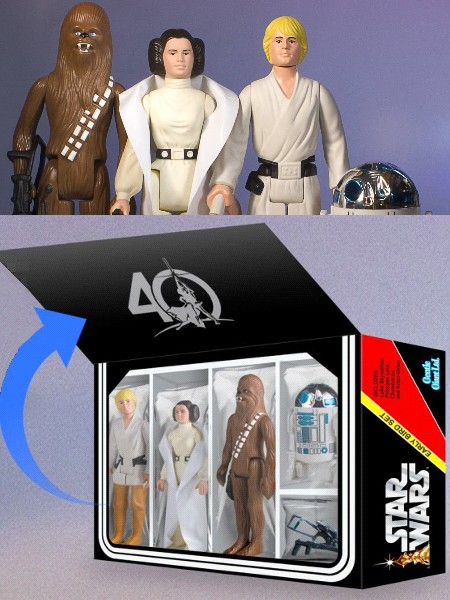 Gentle Giant Star Wars Early Bird 4 Pack Jumbo Figure Set
