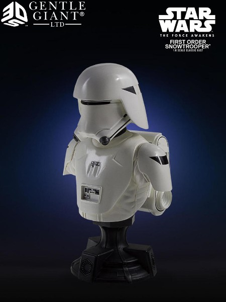 Gentle Giant Star Wars First Order Snowtrooper Classic Bust