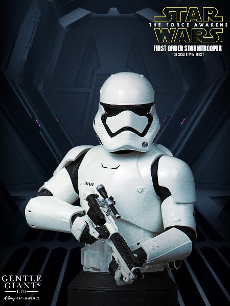 Gentle Giant Star Wars First Order Stormtrooper Bust