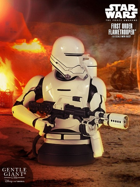 Gentle Giant Star Wars First Order Flametrooper Bust