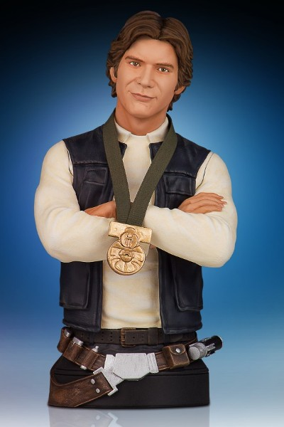 Gentle Giant Star Wars Han Solo Hero of Yavin Mini Bust