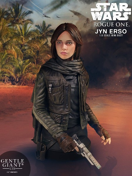 Gentle Giant Star Wars Rogue One Jyn Erso Bust