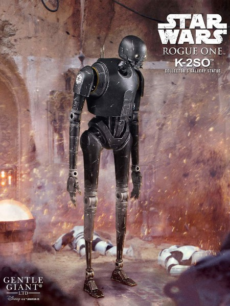 Preorder Gentle Giant Star Wars K-2SO Collectors Gallery Statue