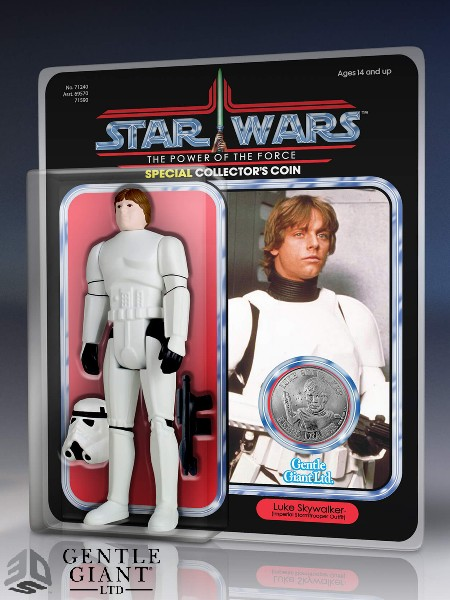 Preorder Gentle Giant Star Wars Luke Stormtrooper Jumbo Figure