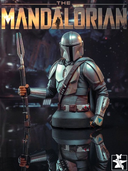 Gentle Giant Star Wars The Mandalorian Beskar SDCC Bust