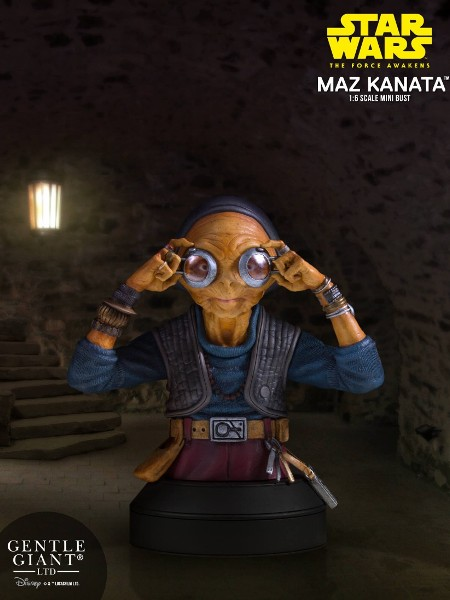 Gentle Giant Star Wars The Force Awakens Maz Kanata Bust