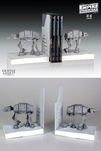 Gentle Giant Star Wars AT AT Mini Bookends Set of 2