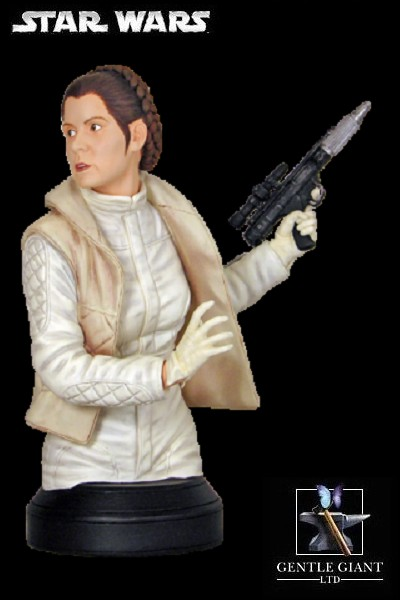 Gentle Giant Star Wars Princess Leia in Hoth Fatigues Mini Bust