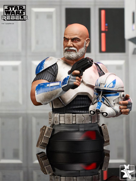 Preorder Gentle Giant Star Wars Clone Wars Captain Rex Bust