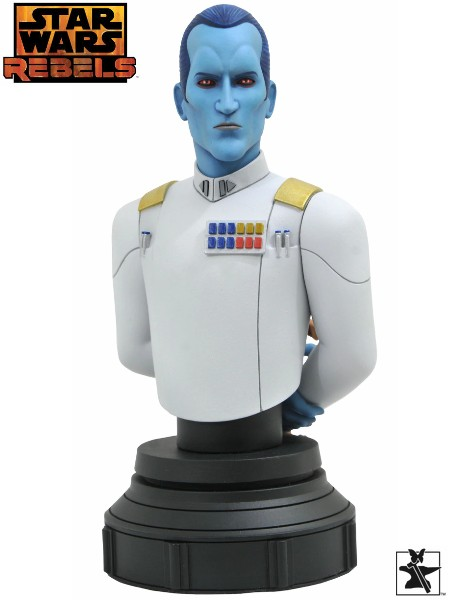 Preorder Gentle Giant Star Wars Rebels Grand Admiral Thrawn Bust