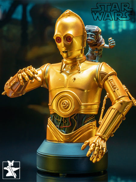Preorder Gentle Giant Star Wars C-3PO with Babu Frik Bust