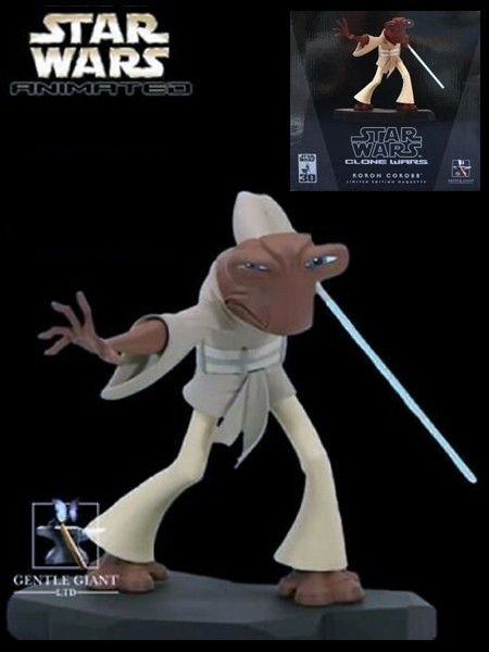 Gentle Giant Star Wars Clone Wars Animated Roron Corobb Maquette