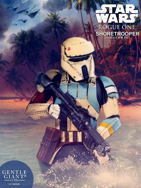 Gentle Giant Star Wars Rogue One Shoretrooper Bust