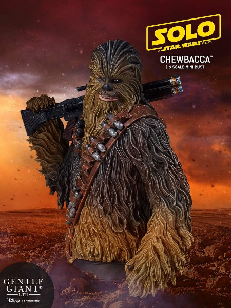 Gentle Giant Star Wars Solo A Star Wars Story Chewbacca Bust