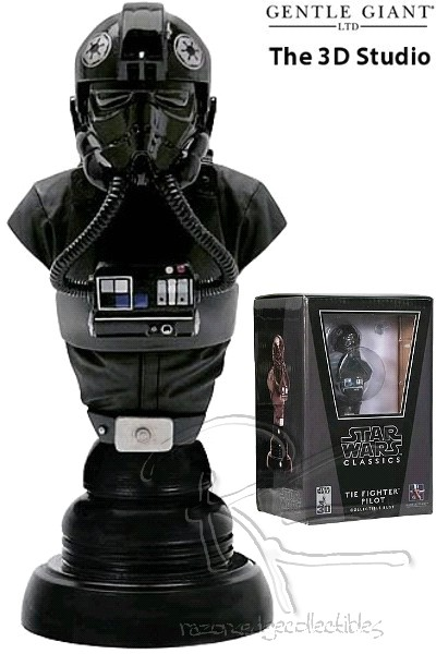 Gentle Giant Star Wars TIE Fighter Pilot Classics Bust